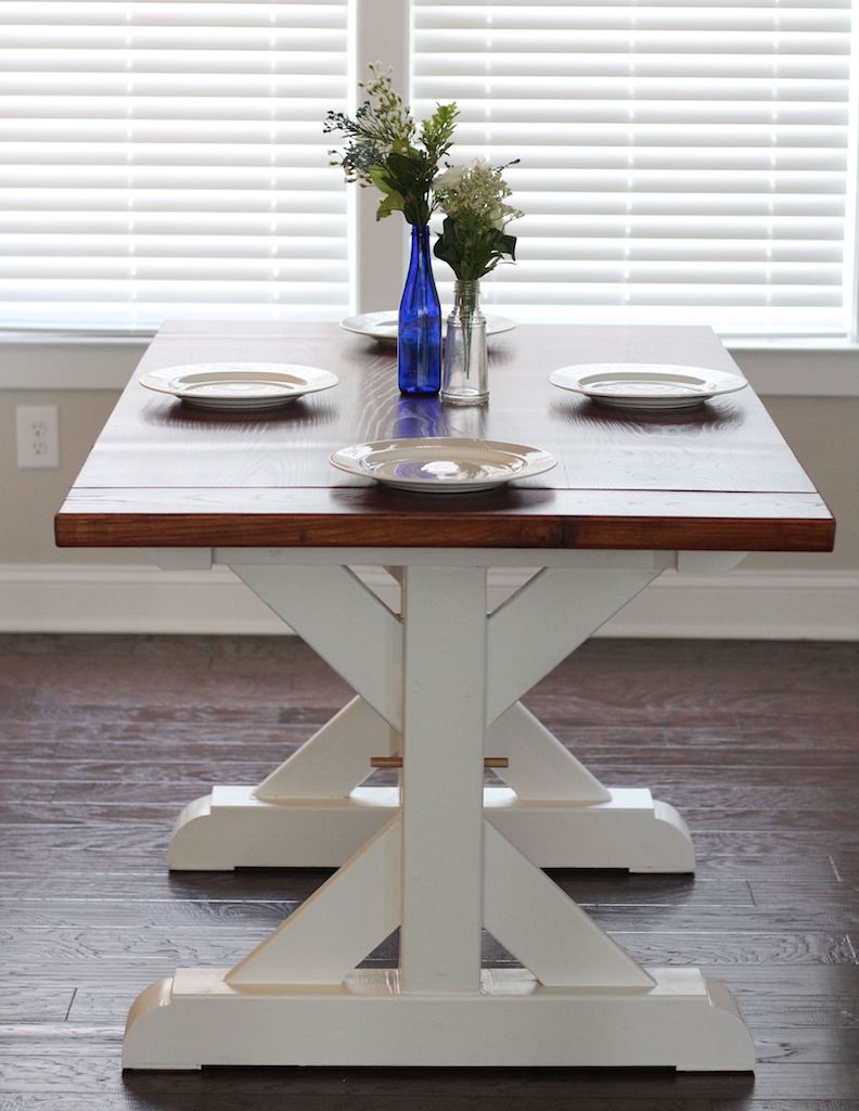 woodworking farmhouse table
