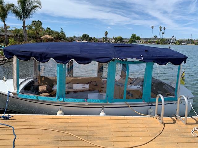 Lynn's electric Duffy boat